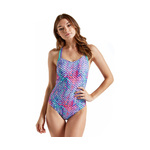 Speedo Missy Franklin Signature Series Multi Splash Time Double Cross Back 1PC Female