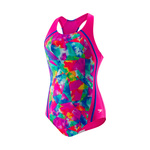 Speedo Girls Tie Dye Sky Sport Splice
