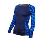 Tyr Women's Rash Guard CADET ARIA
