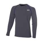 Tyr Men's Rash Guard SOLID LS