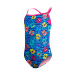 Tyr Girls Swimsuit BEAR DOG