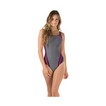 Speedo One Piece HEATHER QUANTUM SPLICE