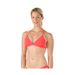 Speedo Solid Triangle Tie Back Top