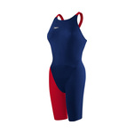 Speedo LZR Elite 2 Kneeskin BLUE/RED