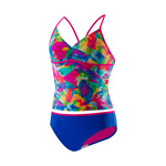 Speedo Girls Tie Dye Sky Tankini 2PC