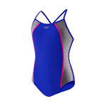 Speedo Girls Swimsuit HEATHER SPLICE