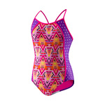 Speedo Girls Diamond Geo Splice