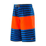 Speedo Boys Bold Stripe Blocked Volley Short