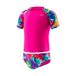 Speedo Girls Begin to Swim Printed Rashguard 2PC Set
