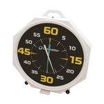 Competitor 37in Battery Pace Clock Black