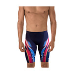 Speedo LZR Racer X Printed Jammer Male Navy/Red/White