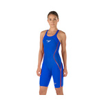 Speedo Fastskin LZR Racer X Closed Back Kneeskin Female Blue/Red