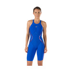 Speedo Fastskin LZR Racer X Open Back Kneeskin Female Blue/Red
