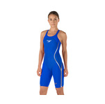 Speedo Fastskin LZR Racer X Closed Back Kneeskin Female Speedo Blue