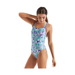 Speedo Missy Franklin Swimsuit AQUA