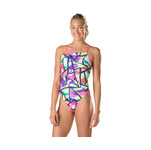 Speedo Swimsuit TURNZ PURPLE/PINK