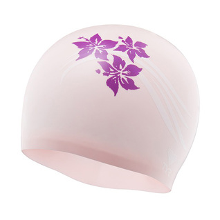 Tyr Flowers Silicone Swim Cap product image
