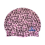 Water Gear Swim Cap PINK CHEETAH