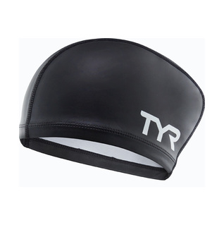 Tyr Long Hair Silicone Comfort Swim Cap product image