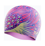 Tyr Swim Cap PEACOCK