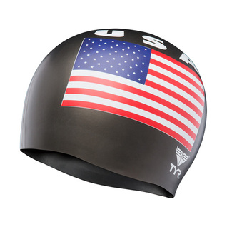 Tyr USA Latex Swim Cap product image