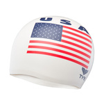 Tyr USA Latex Swim Cap