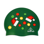 Water Gear Swim Cap SANTA HAT ORNAMENT