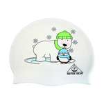 Water Gear Swim Cap BEAR PENGUIN