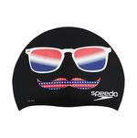 Speedo Swim Cap BLACK HOLIDAY