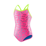 Speedo Flipturns Swimsuit PINK/PINK