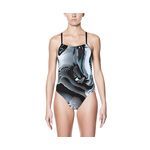 Nike Swimsuit GEO AFTERSHOCK Cut-Out