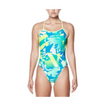 Nike Swimsuit DRIFT GRAFFITI Modern Cut-Out