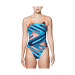 Nike Swimsuit TIDAL RIOT Modern Cut-Out