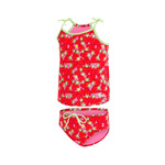 Dolfin Toddler Tankini BERRY CUTE