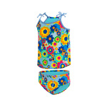 Dolfin Toddler Tankini FLOWER POWER
