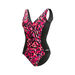 Dolfin Fitness Swimsuit IKAT V-Neck