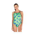 Speedo Turnz Swimsuit PALM PLAY