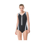 Speedo Fitness Swimsuit PLUNGE ZIP