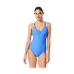Speedo Active Swimsuit SOLID KEYHOLE