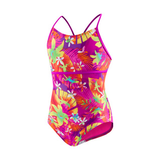 Speedo Girls Hidden Tropical Strappy 1PC product image