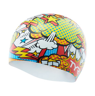 Tyr Comic Action Silicone Swim Cap product image