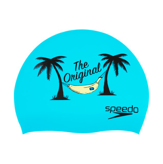 Speedo Teal The Original Silicone Swim Cap product image