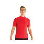 Dolfin Men's Rash Guard Mock Neck Short Sleeve