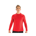 Dolfin Men's Rash Guard MOCK Neck Long Sleeve