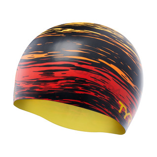 TYR Sunset Silicone Swim Cap product image