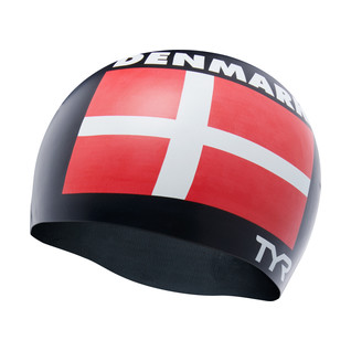 TYR Denmark Silicone Swim Cap product image
