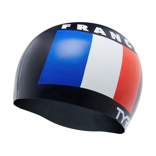 TYR France Silicone Swim Cap product image