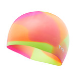 TYR Youth Tie Dye Silicone Swim Cap