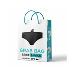 Grab Bag Brief 3 Pack Male
