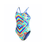 Dolfin Uglies Kaleidoscope String Back One Piece Suit